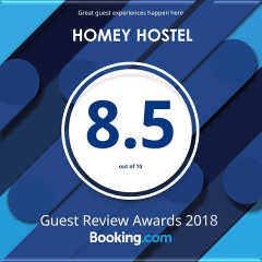 2018 Booking.com Guest Review Awards of Excellence
